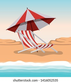 Summer and vacation chair design