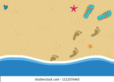 Footprint Sand Stock Illustrations Images Vectors Shutterstock