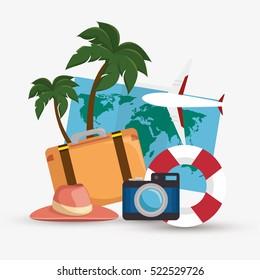 summer vacations holiday poster