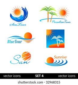 Summer vector icon