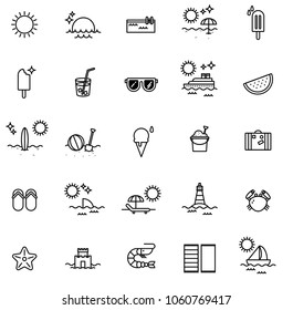 Summer Vibes Icons