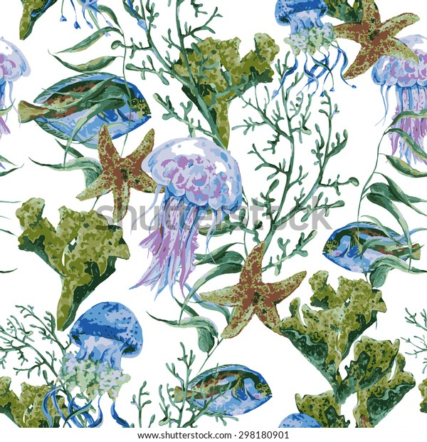 Molde y pintura Sealife