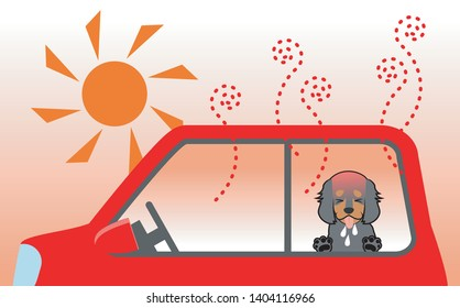 Summertime and the danger of leaving the dog in the car