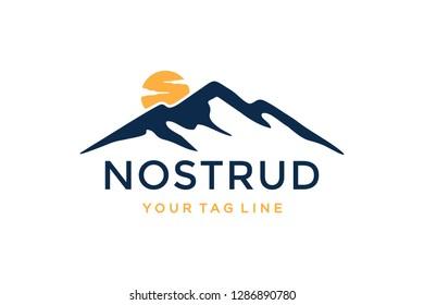 Summit logo design concept. Universal summit design.