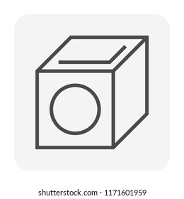 Sump pit icon, 64x64 perfect pixel and editable stroke.