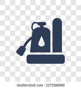 Sump Pump icon. Trendy Sump Pump logo concept on transparent background from Furniture and Household collection