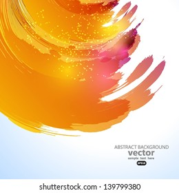 Sun background. Vector illustration for your business presentations. EPS10.