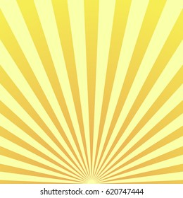 Sun beam ray sunburst pattern background summer. Shine Summer pattern.