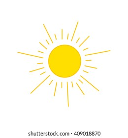 Sun Drawing Images, Stock Photos & Vectors | Shutterstock