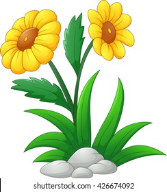 Cartoon Flowers High Res Stock Images Shutterstock