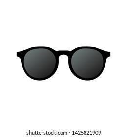 Sun glasses icon with gradient color