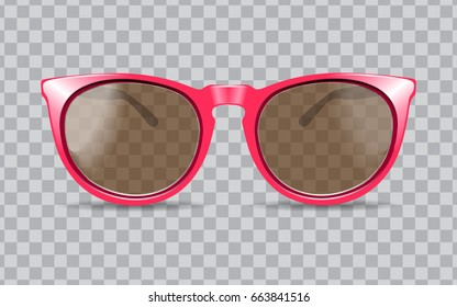 sun glasses vector illustration 3D realistic