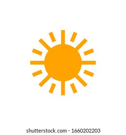 Sun Icon for Graphic Design Projects