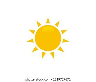 Sun icon web