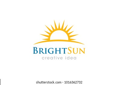 Sun Logo and Icon Template