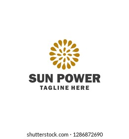 Sun logo or illustration