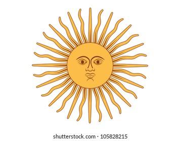Imagenes Fotos De Stock Y Vectores Sobre Sol Argentina Shutterstock
