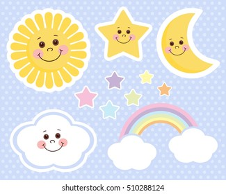 Sun and Moon Baby Set
