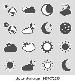 Sun Moon Symbol Images, Stock Photos & Vectors | Shutterstock