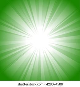 Sun / radiation vector background