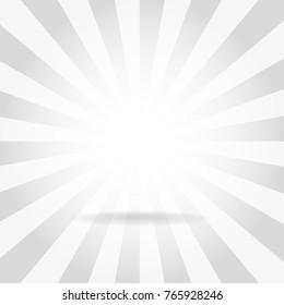 Sun ray background vector