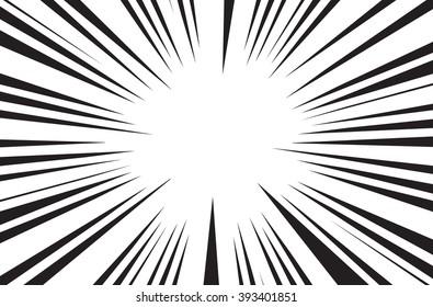 Line Art Of Sun : Sun rays comic books radial background stock vector royalty free