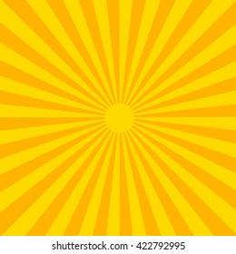 sun rays. japanese sun