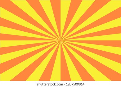 Sun Rise background - vector