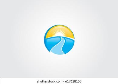 Sun And River Outdoor Logo