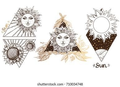 Line Art Of Sun : Crow face profile line art stock vector royalty free 209212669