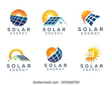 Sun Solar Energy Logo Designs
