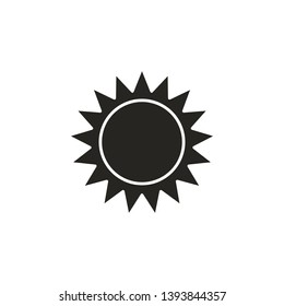 sun, space, planet icon. Simple glyph, flat vector of Space icons for UI and UX, website or mobile application