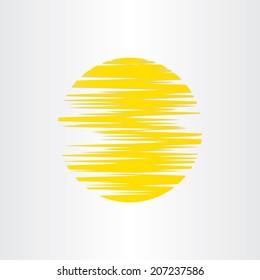 sun stylized abstract energy icon alternative energy background radiation warm sunset sunrise temperature planet