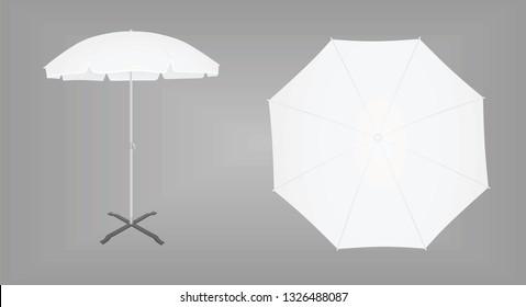 Sun umbrella. vector illustration
