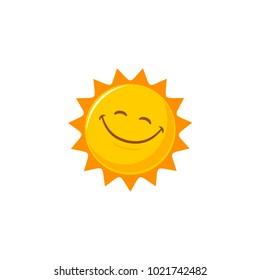 Sun vector cartoon
