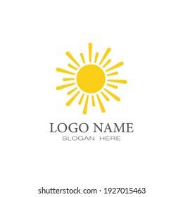 Sun Vector illustration Icon Logo Template design