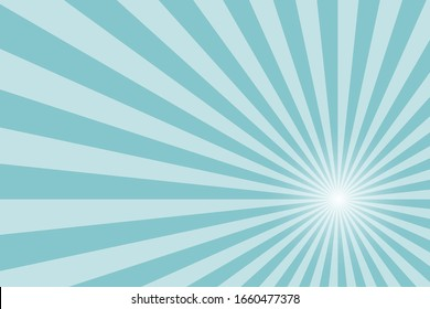 sunbeam star burst background color stock vector illustration