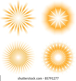 sunburdt abstract design elements