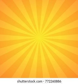 Sunburst background design, Vector backdrop in EPS10