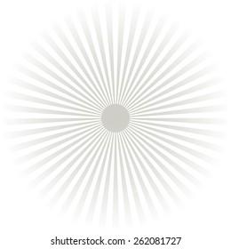 sunburst background .pattern.texture  .gray and white sunray.vector illustrator