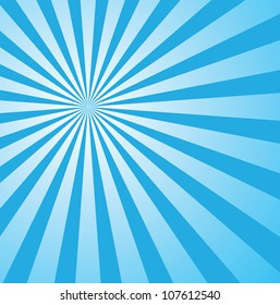 sunburst background for retro design, vector format in epsv10, sunburst patterns are free to be moved around and adjusted.