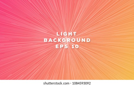 Sunburst background. Speed geometric trendy gradient color line style for web page, motion graphic, cosmos illustration, flow. Sunburst backdrop. Circular line colorful motion pattern. Vector 10 eps
