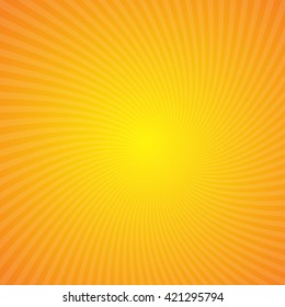 Sunburst background. Vector illustration