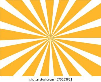 Sunburst  background. Vector illustration.
