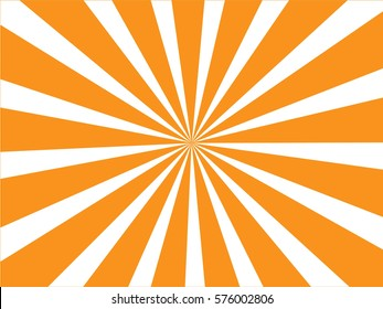 Sunburst  background. Vector illustration.