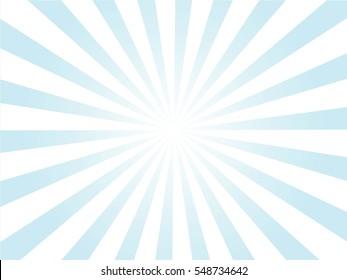 Sunburst background.blue and white sunburst. Vector illustration.