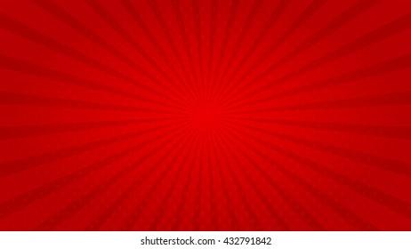 Sunburst Poster. Swirling radial background. Vector