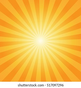 Sunburst rays sunbeam background vector