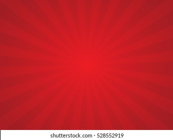 Sunburst red background