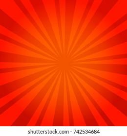Sunburst Red Burst